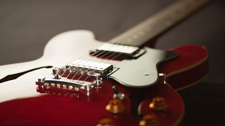 Guitar Exercises and More on This Acoustic Electric Guitar