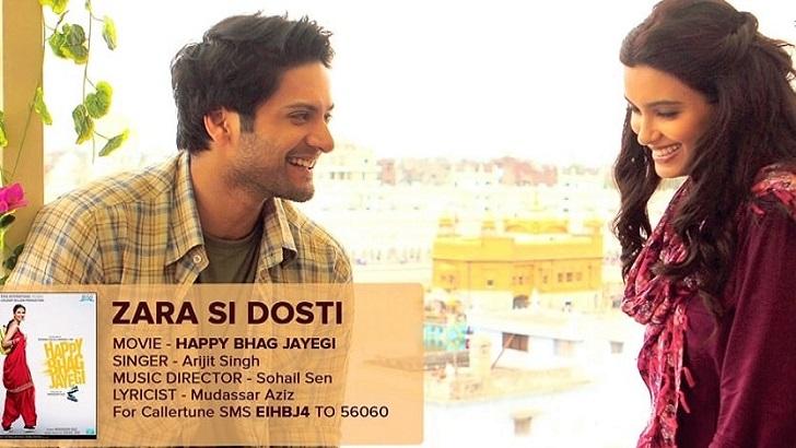 Zara Si Dosti Guitar Chords Strumming Pattern – Happy Bhag Jayegi-min